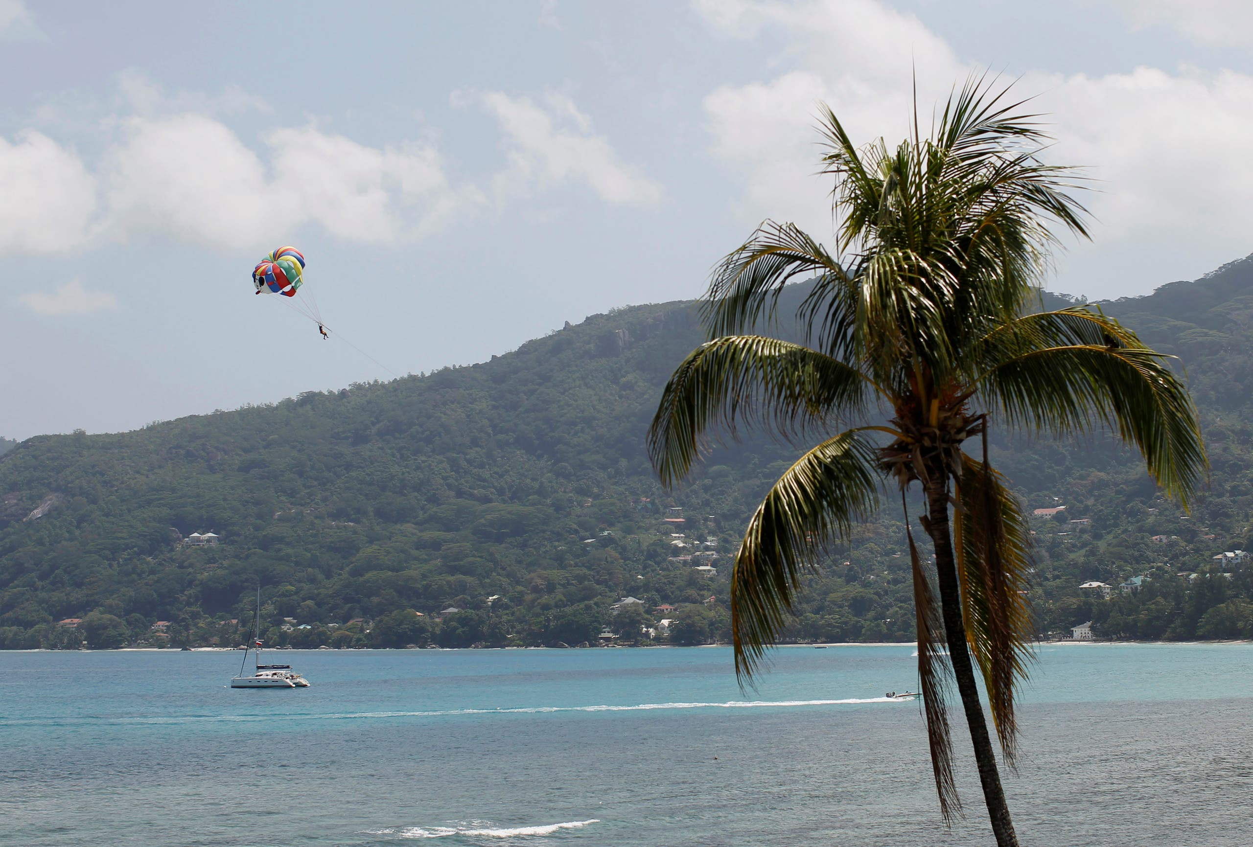 A general view of Seychelles beach February 29, 2012. (Reuters)