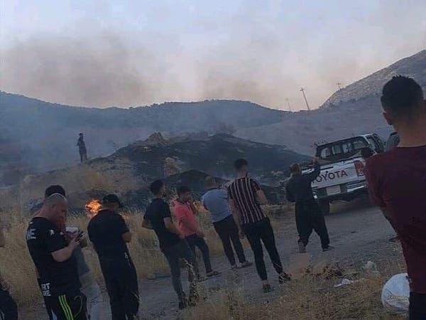 طائرات تركية تقصف موقعاً بالقرب من دهوك بكردستان العراق