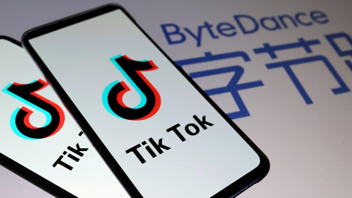 TikTok logos are seen on smartphones. (File photo: Reuters)