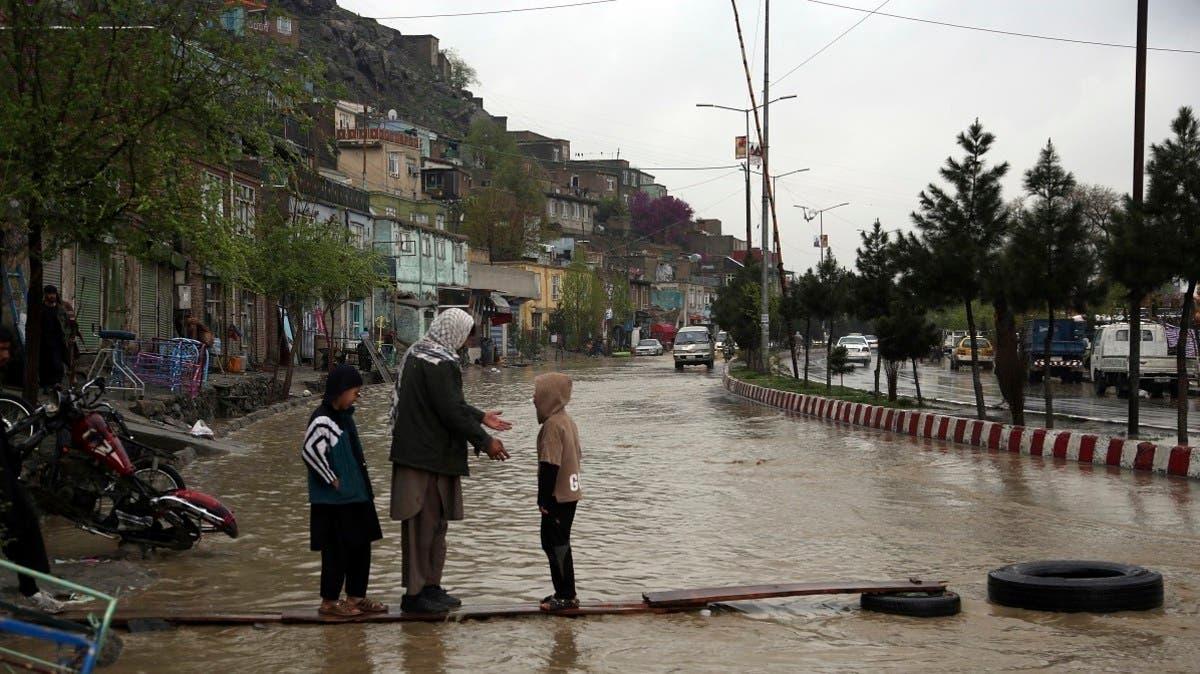 Floods leave at least 70 dead in northern Afghanistan   Al Arabiya English
