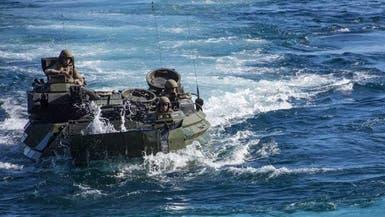 عملية بحث واسعة عن 8 جنود أميركيين إثر غرق مركبة عسكرية