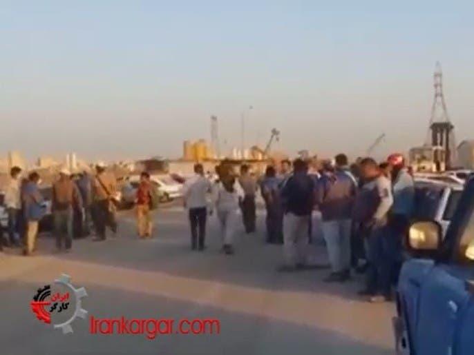 إضرابات واسعة في مصافي النفط الإيرانية