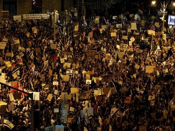 طالبوا باستقالته.. مظاهرات حاشدة ضد نتنياهو بإسرائيل