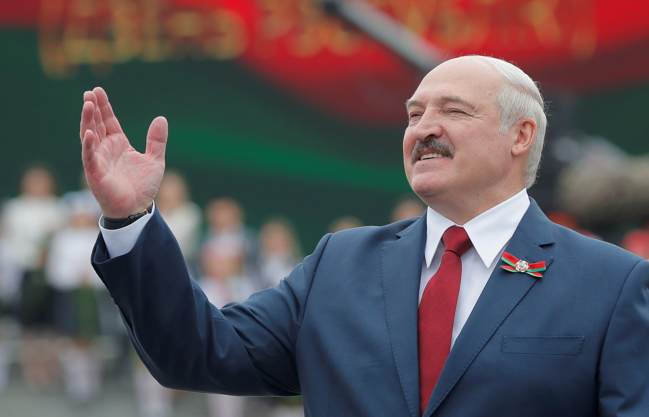 رئيس روسيا البيضاء ألكسندر لوكاشينكو