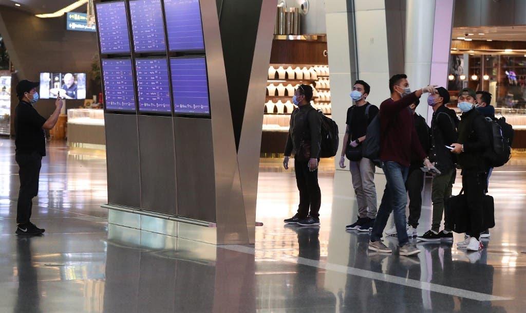 من مطار الدوحة (فرانس برس)