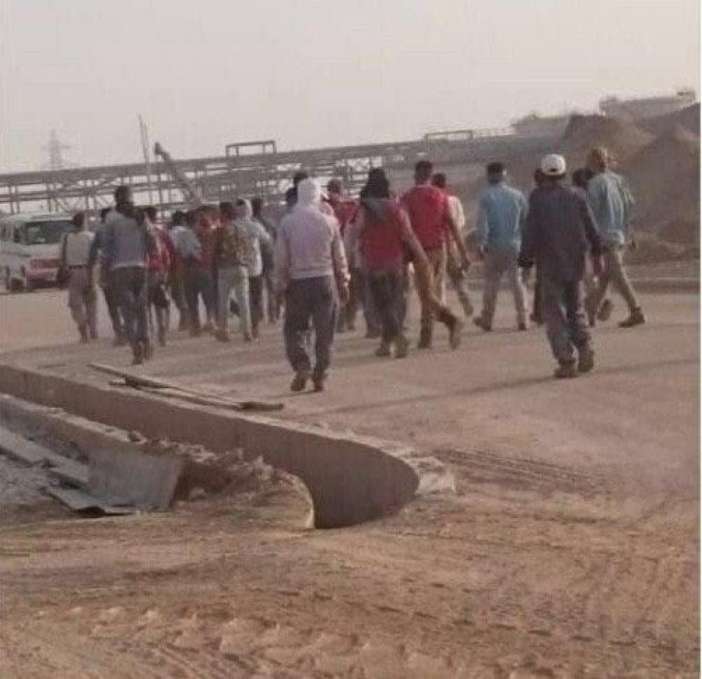 إضراب عمال مصفاة الجفير في الأهواز