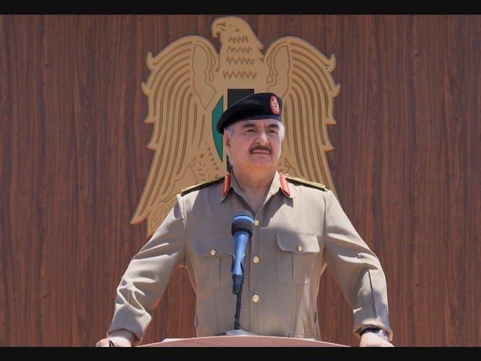 حفتر: الليبيون لن يقبلوا بالخضوع لاستعمار تركي جديد