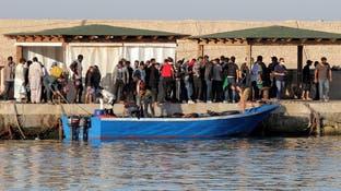 المهاجرون القادمون من تونس يغرقون جزيرة إيطالية
