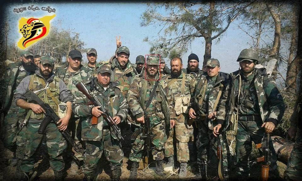 حسين توفيق الأسد زعيم ميليشيات أسود الحسين
