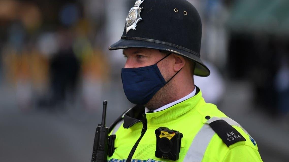 عنصر من شرطة لندن - فرانس برس
