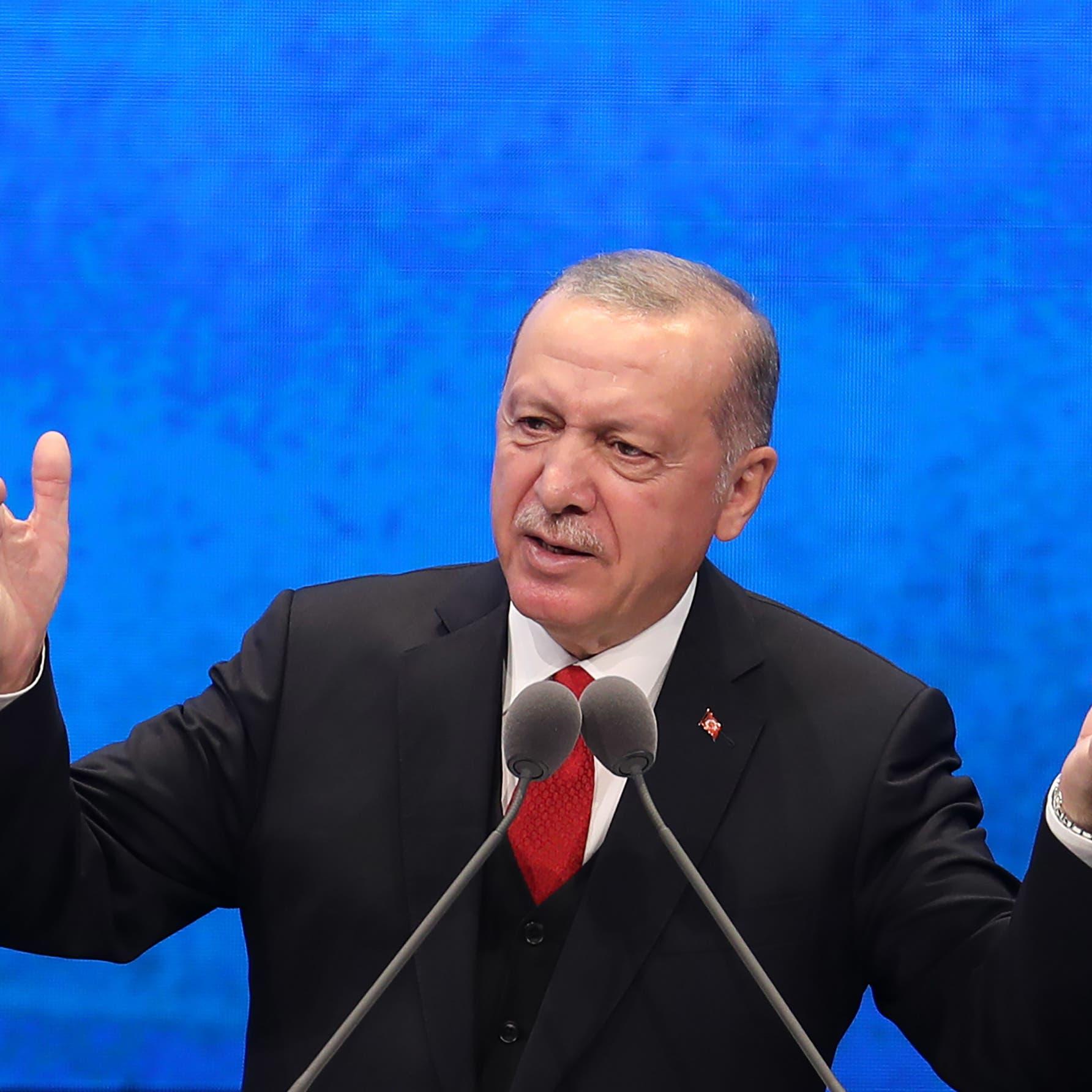أردوغان يصعد: سنواصل التنقيب بالمتوسط.. وأوروبا تحذره