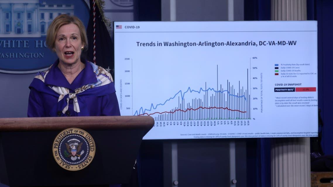 مستشارة البيت الأبيض تحذر : #أميركا دخلت مرحلة جديدة من #كورونا