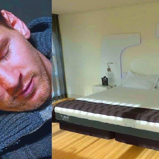 شاهد أين ينام ميسي كل ليلة ليحميه الفراش من كورونا