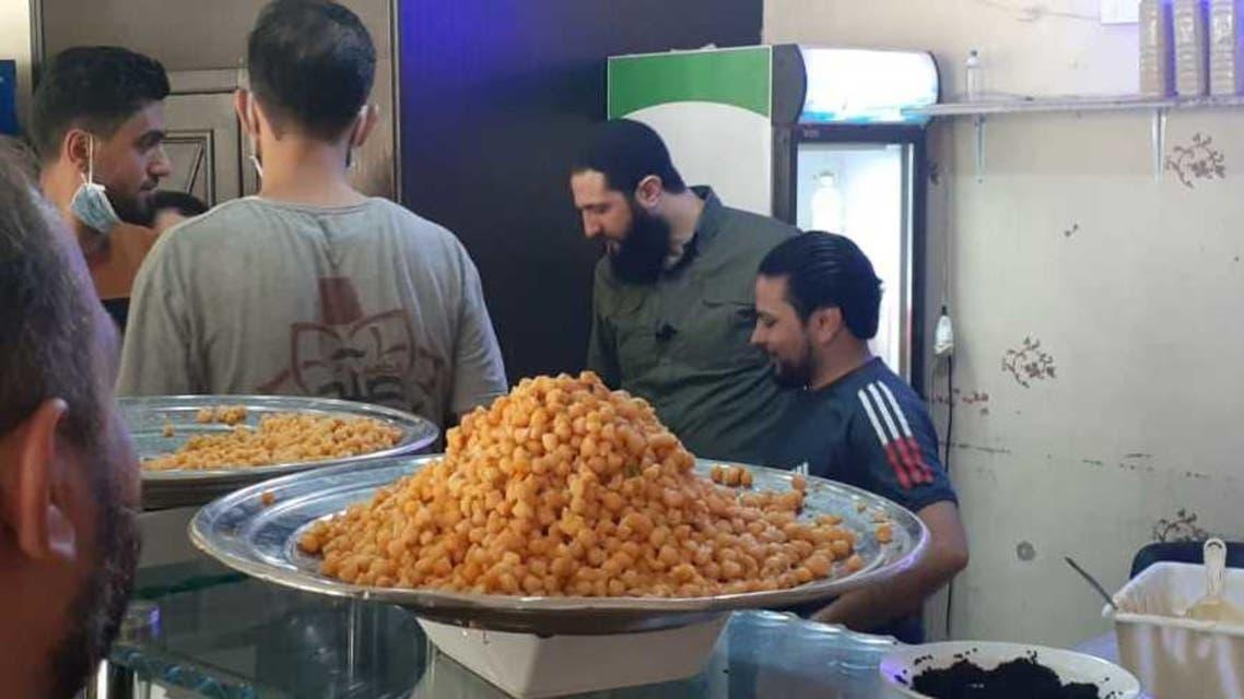الجولاني والطعام