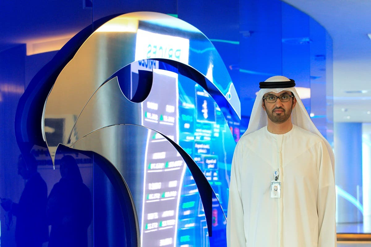 A file photo of Sultan Ahmed Al Jaber, the head of Abu Dhabi's national oil company ADNOC. (Reuters)