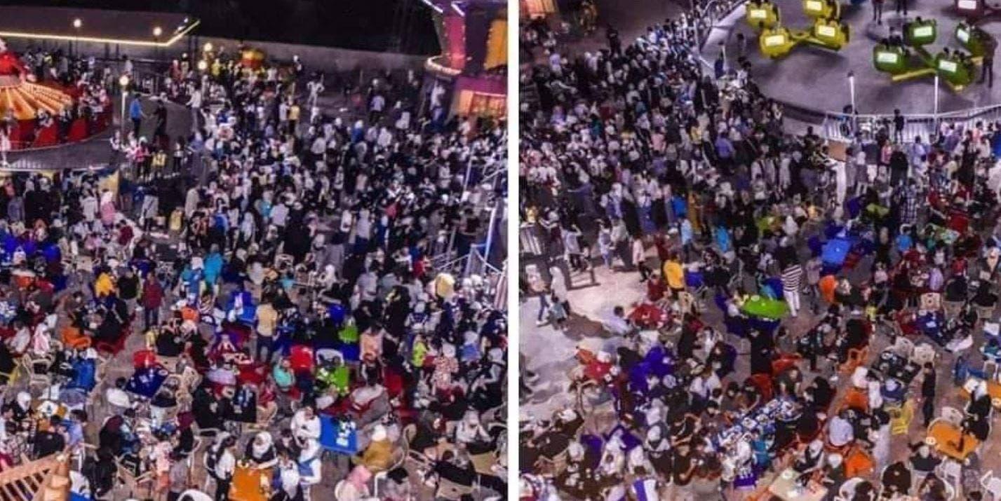 تجمعات احتفالا بالعيد في العاصمة دمشق