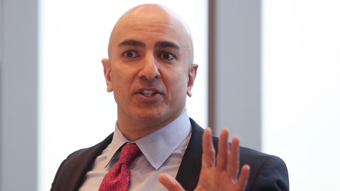 President of the Federal Reserve Bank on Minneapolis Neel Kashkari speaks during an interview in New York, U.S., March 29, 2019. (Reuters)