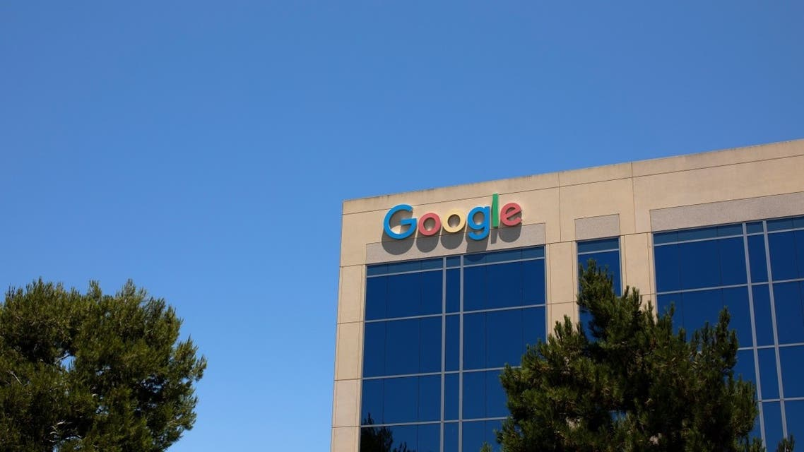 A Google building is shown at one of the company's office complexes in Irvine, California, US, July 27, 2020. (Reuters)