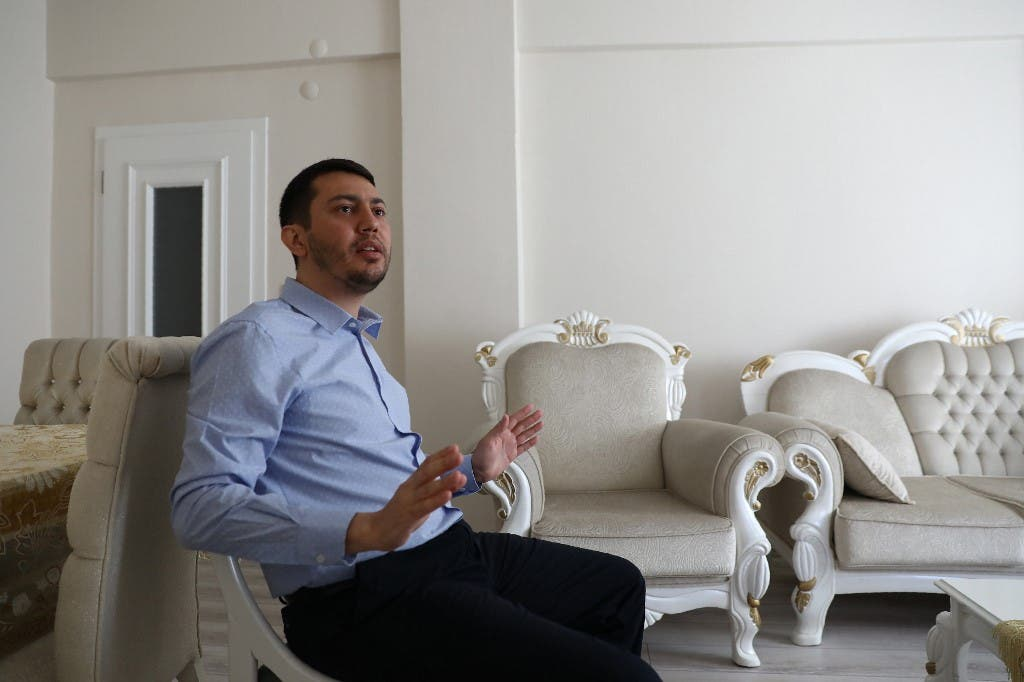 NASA scientist Serkan Golge speaks with AFP at his parents' home in Hatay, on June 7, 2019, nine days after being released on probation. (AFP)