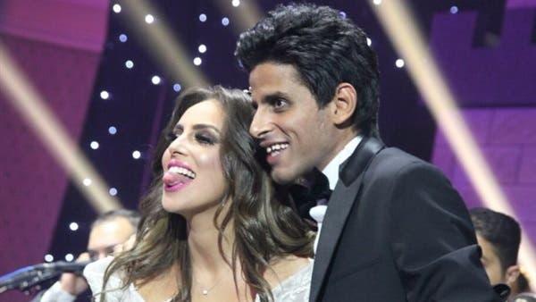 حمدي الميرغني وزوجته الفنانة إسراء