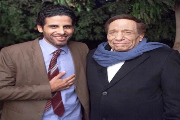 عادل إمام وحمدي الميرغني