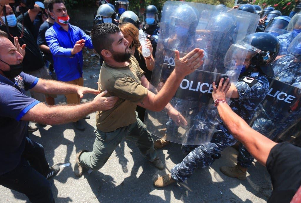 من احتجاجات اليوم