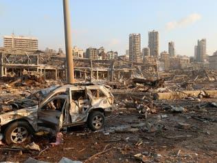 معلومات أولية: الانفجار وقع بمخزن لسلاح حزب الله بمرفأ بيروت