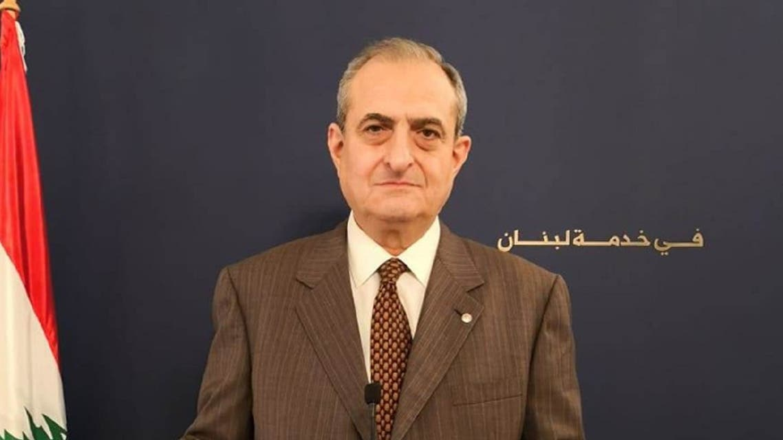 Kataeb's Secretary-General Nazar Najarian died as a result of the explosions in Beirut, Aug. 4, 2020. (Kataeb Party website)