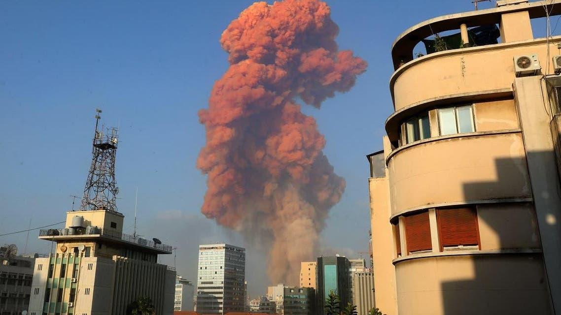 بیروت دھماکے