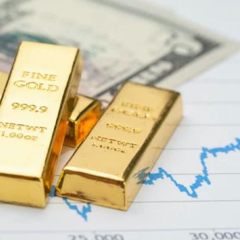 الذهب يتراجع مع صعود الدولار بفضل بيانات قوية