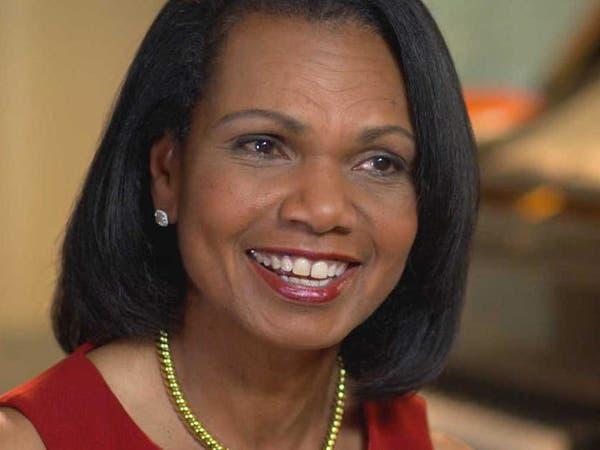 كوندوليزا رايس: اليسار يسيء إلى السود داخل أميركا