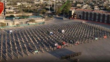 فيديو.. عرض عسكري للمرتزقة بطرابلس بقيادة ضابط تركي