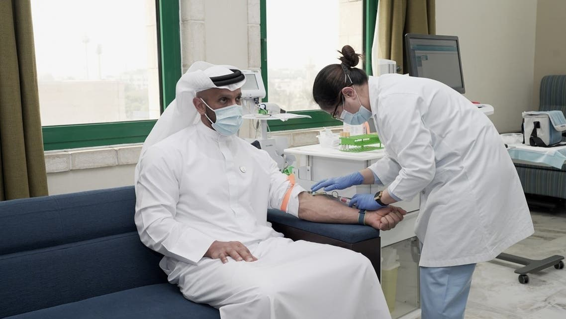 Abu Dhabi's most senior health officials were the very first volunteers, have now received the second shot of the COVID-19 inactivated vaccine as the 4Humanity Phase III clinical trials build momentum in the UAE. (Courtesy: WAM)