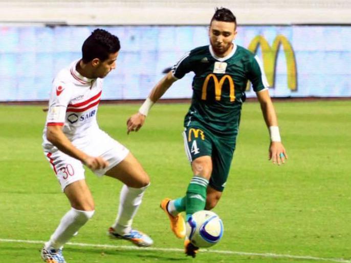 استئناف الدوري المصري بلقاء الزمالك والمصري البورسعيدي