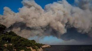 فرنسا..إصابة 22 شخصاً وإجلاء 2700 فيحرائق قرب مرسيليا