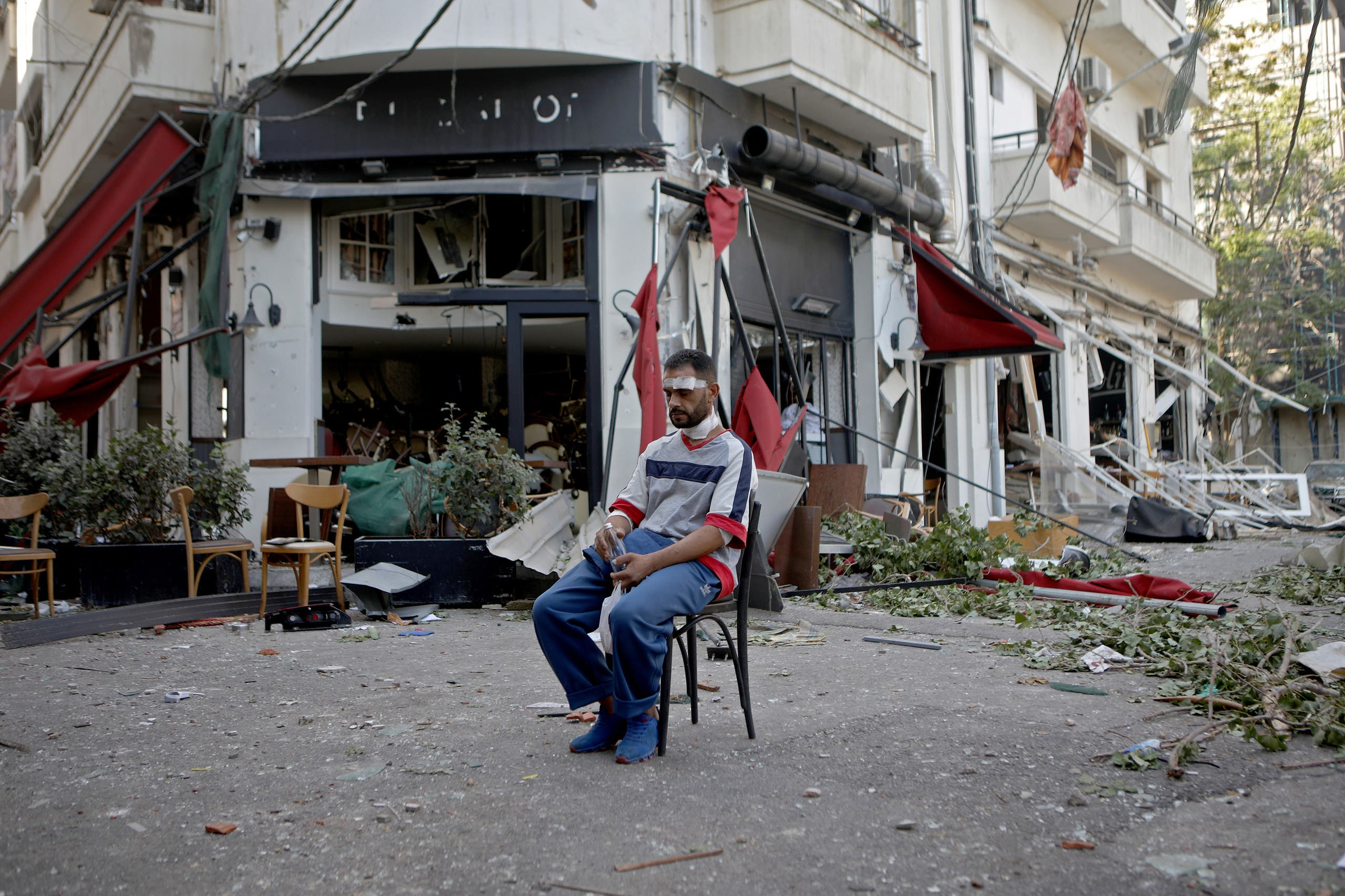 من تفجير بيروت