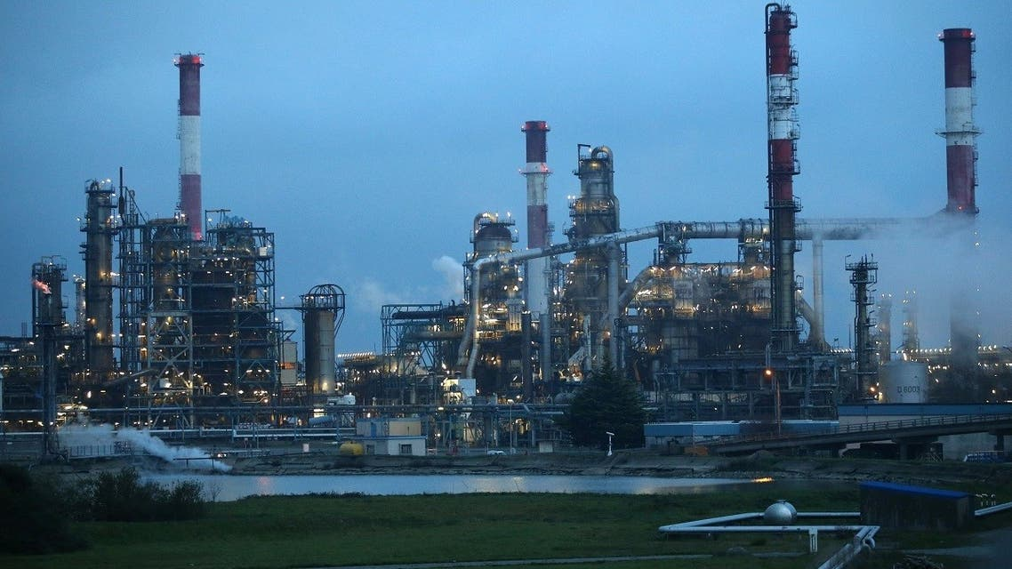 France's Total oil refinery. (File photo: Reuters)
