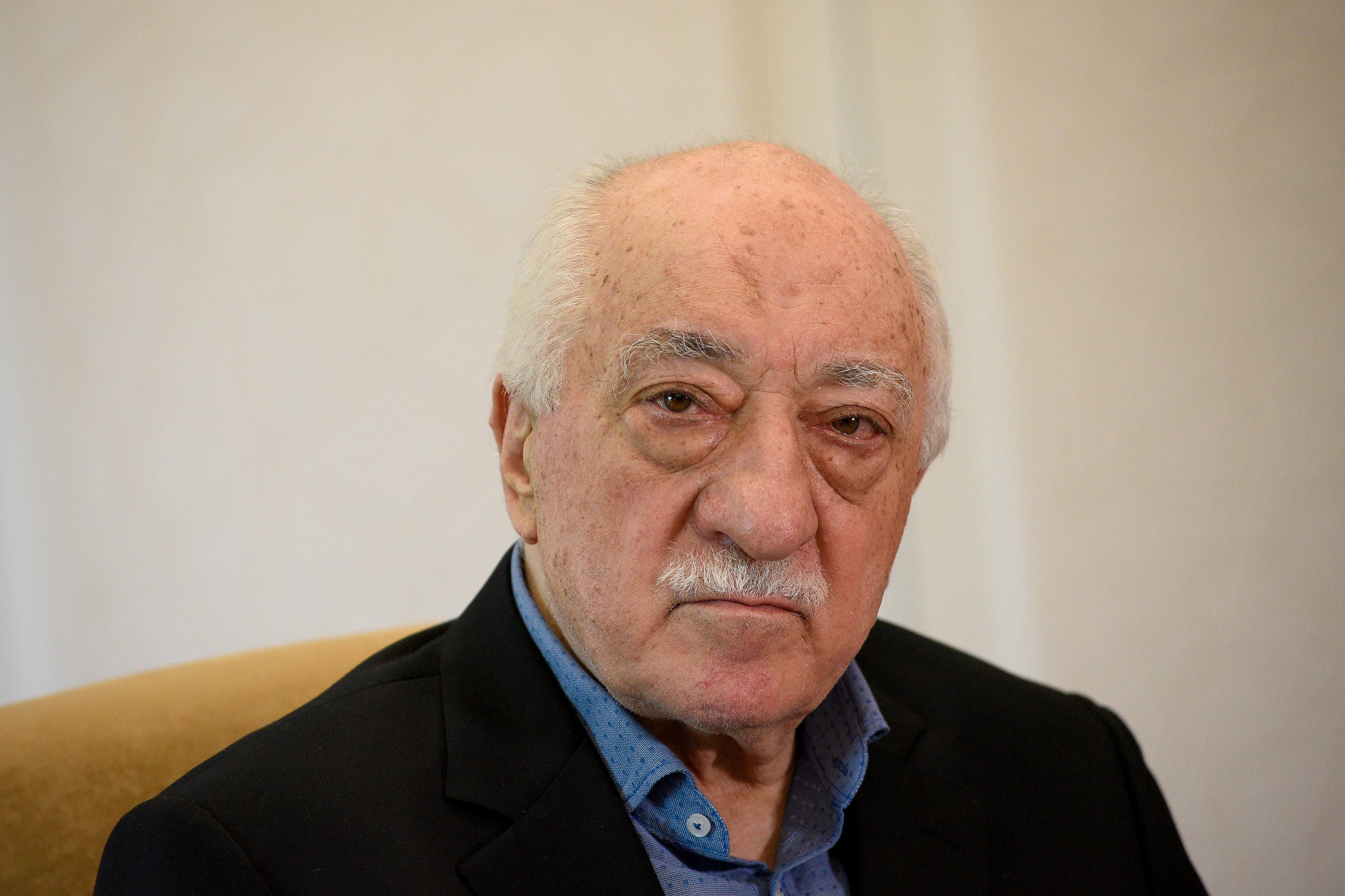 US.-based Turkish cleric Fethullah Gulen at his home in Saylorsburg, Pennsylvania. (File photo: Reuters)