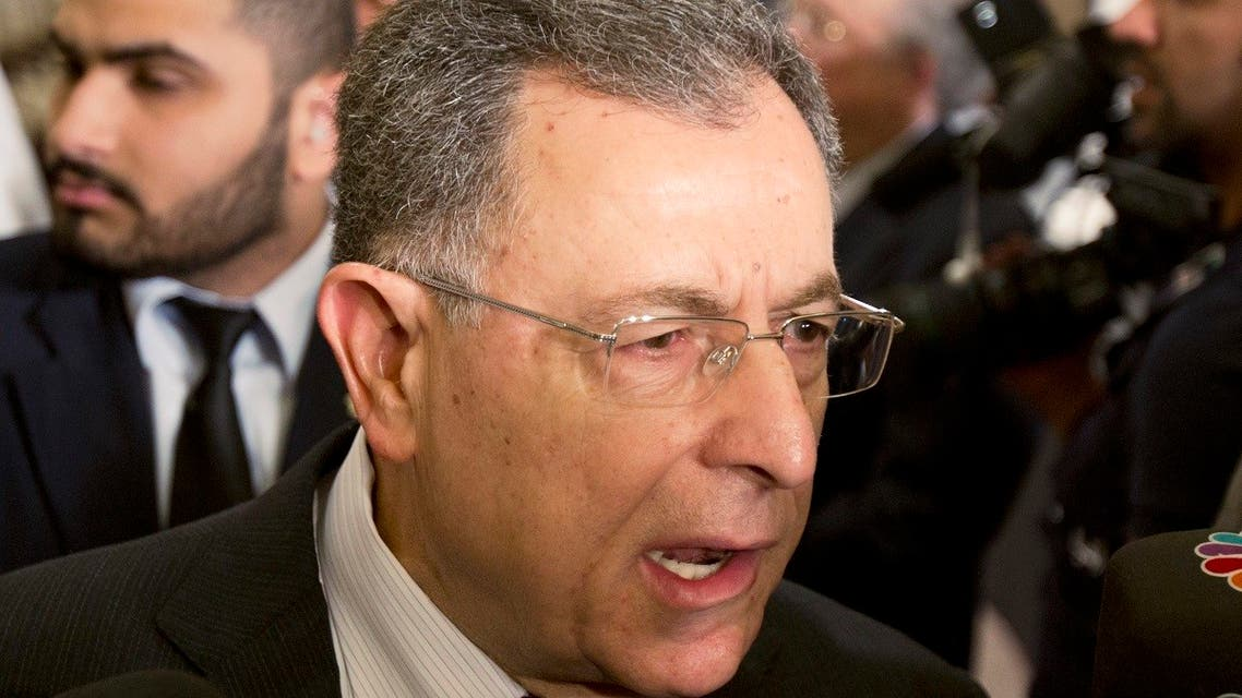 Former Lebanese PM Siniora attends International Conference of Council for Arab and International Relations in Kuwait City. (File photo: Reuters)