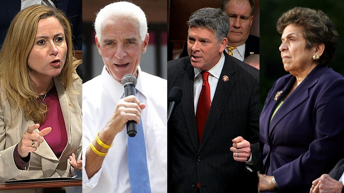 From left to right: US Representatives Debbie Mucarsel-Powell, Charlie Crist, Darin LaHood, and Donna Shalala.