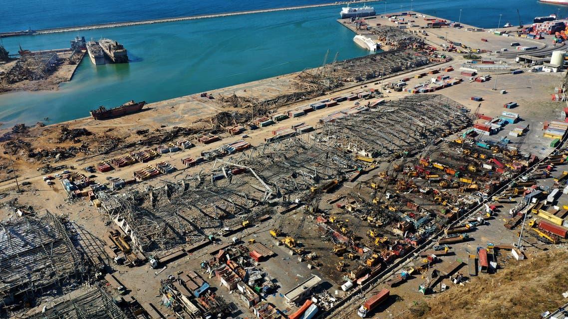 من ميناء بيروت يوم 5 أغسطس