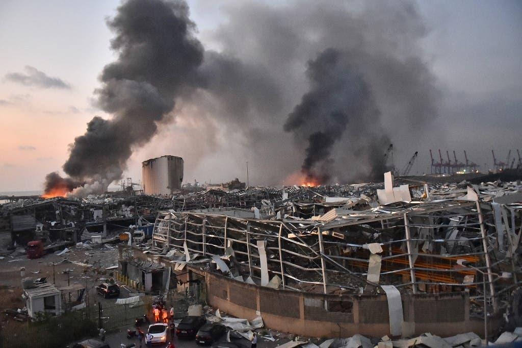من انفجار بيروت