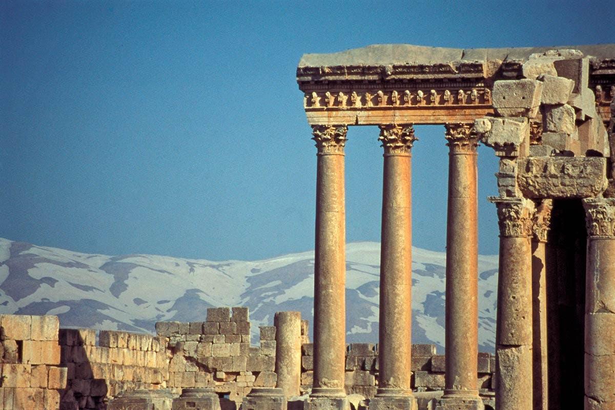 صورة لآثار رومانية بلبنان