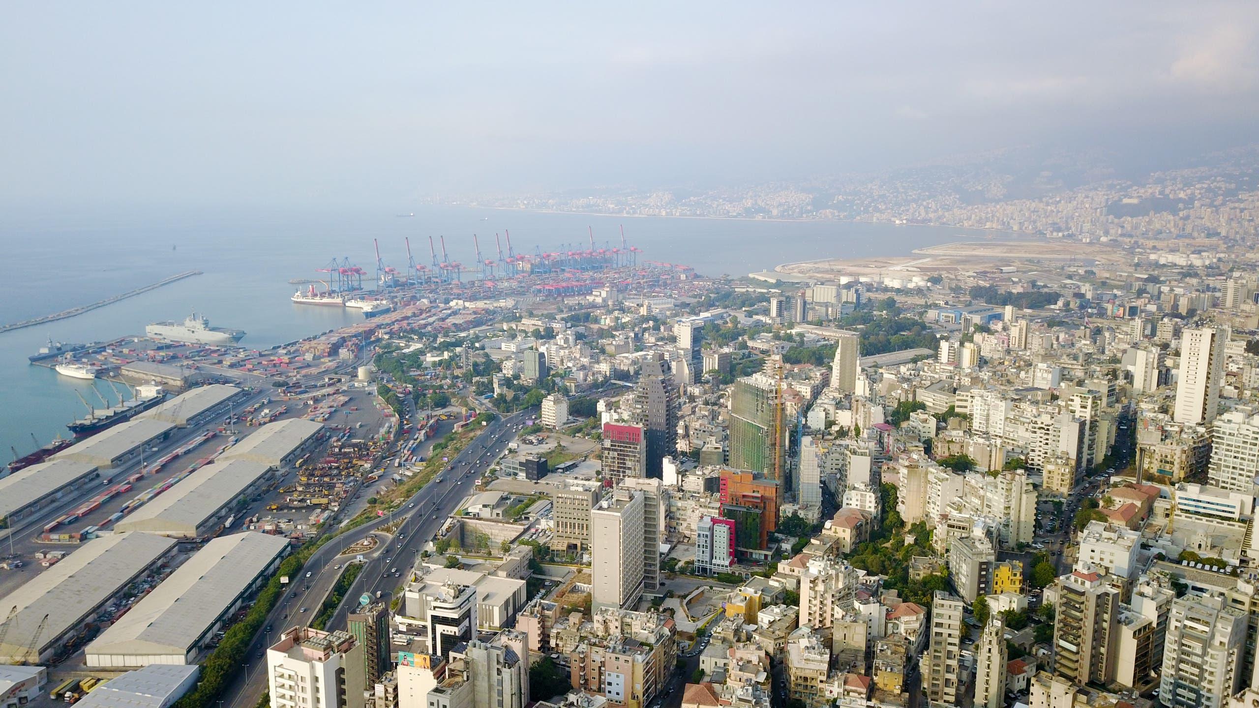 مرفأ بيروت قبل الكارثة