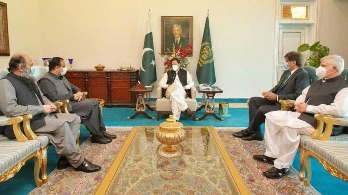 Imran Khan ICC meeting