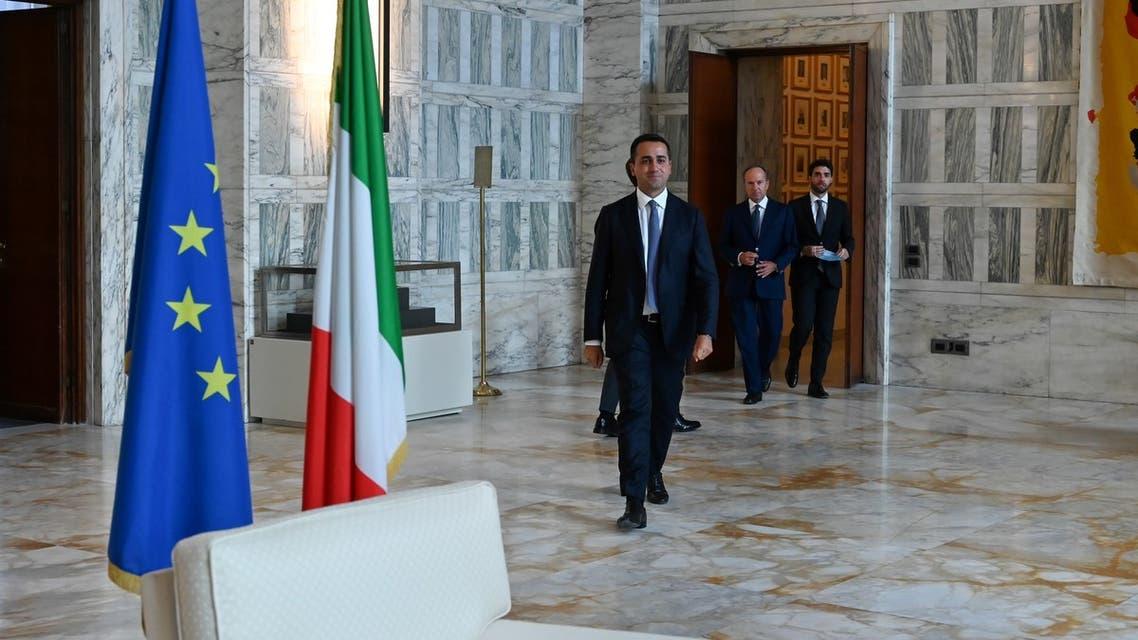 Italian Foreign Minister Luigi Di Maio