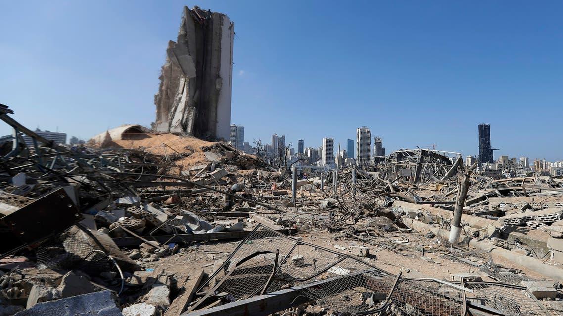 من مرفأ بيروت يوم 7 أغسطس