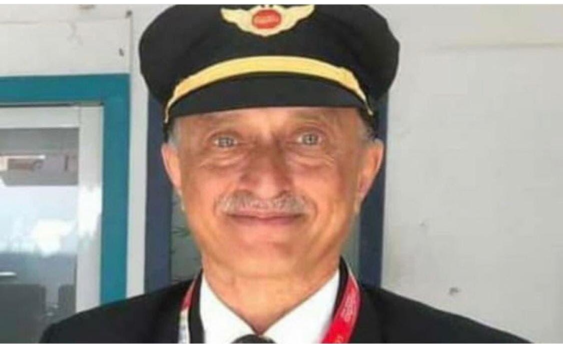 تصویر یکی از خلبانهای هندی که در این حادثه جان باخت