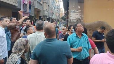 8 قتلى بانهيار مبنى فجأة في مصر.. السلطات تحقق
