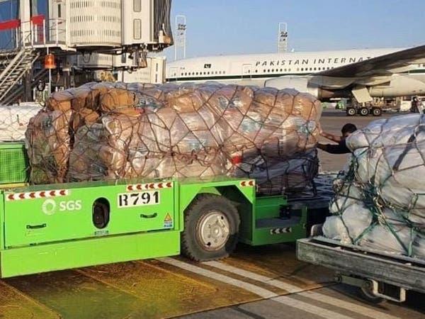 مركز الملك سلمان يسيّر أول قافلة إغاثة إلى بيروت